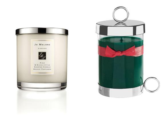 Duftkerzen von Parfümeuren. Links: Jo Malone. Rechts: Bougies Rigaud. Foto: Jo Malone / Rigaud