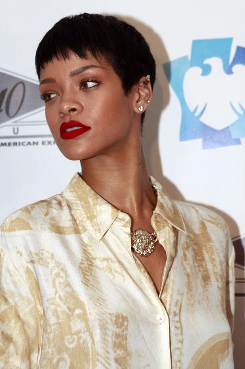 Der Pixie-Haarschnitt: Rihanna