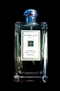 "Jo Malone ""Peone & blush suede""."