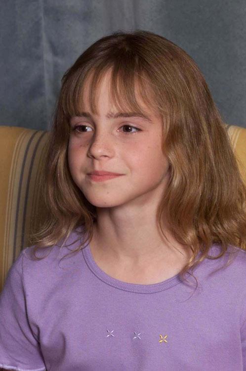 Emma Watson at Harry Potter press conference