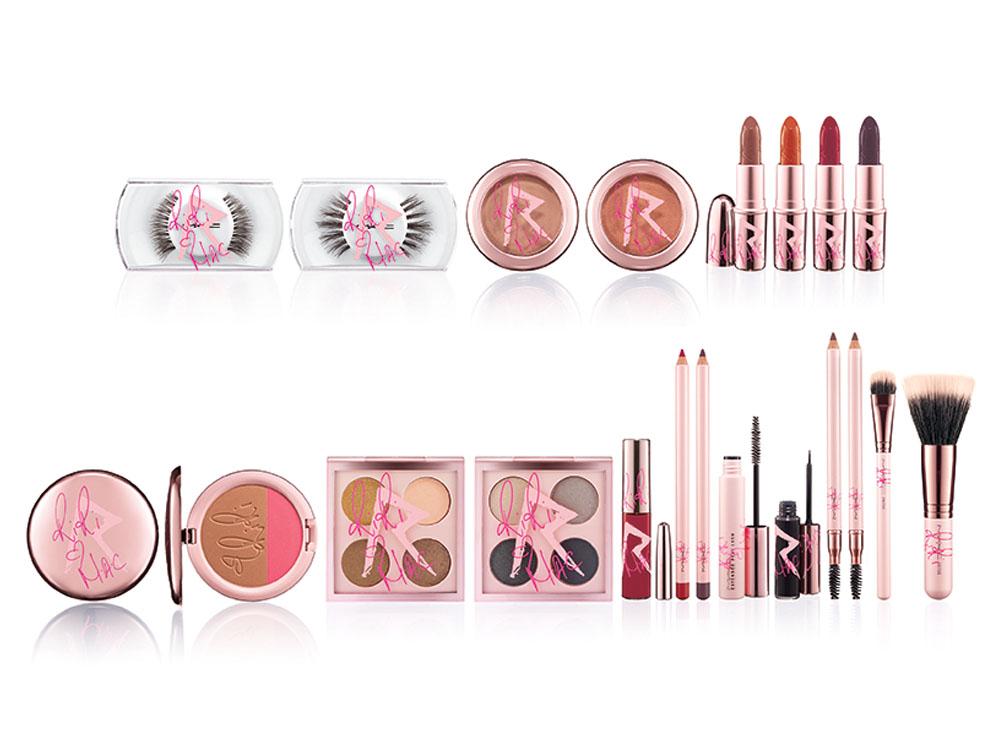 Die gesamte Kollektion von Rihanna. Die Farbpalette beeindruckt. Credit: MAC Cosmetics