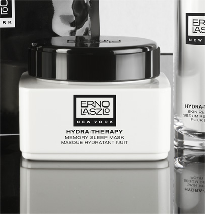 """Hydra Therapy Memory Sleep Mask"" von Erno Laszlo."