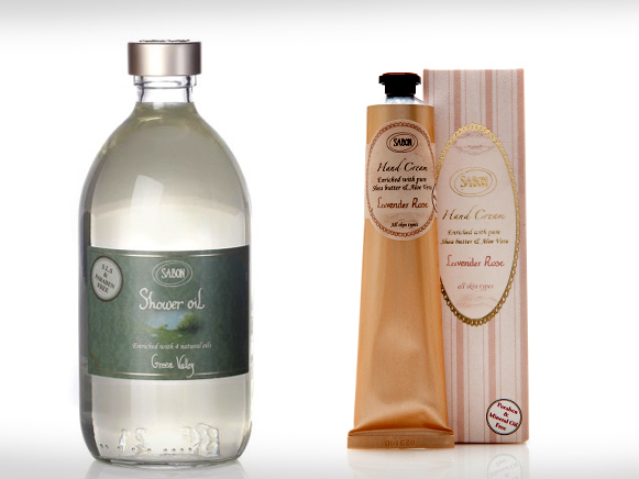 Sabon-Handcream-Shower-Lavender-Rose-Oil-Green-Valley