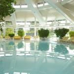 Der Indoor-Pool in der Sonnenalp