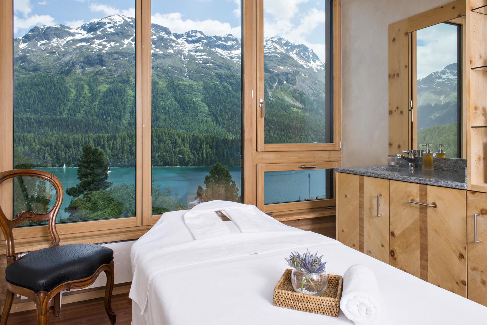 Kulm Hotel St. Moritz: ein Behandlungsraum