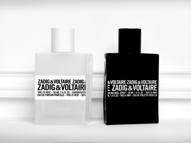 Zadig & Voltaire This is Him and This is Her Parfume Test