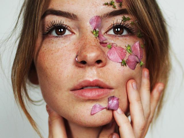 Haut im Frühling