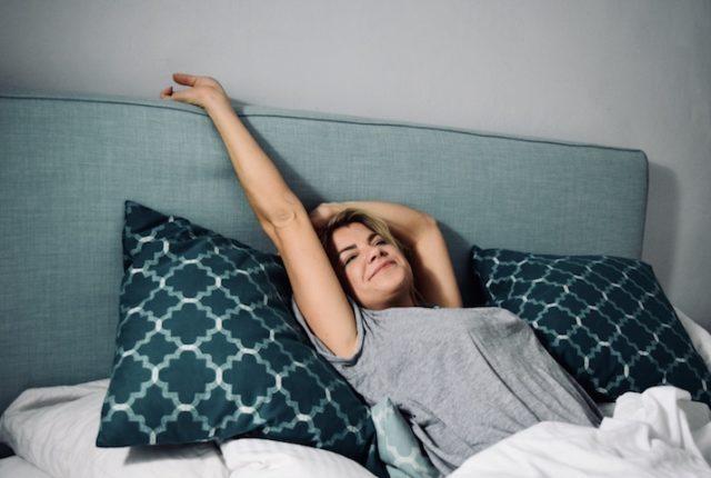 Schlaf gesunde Haut
